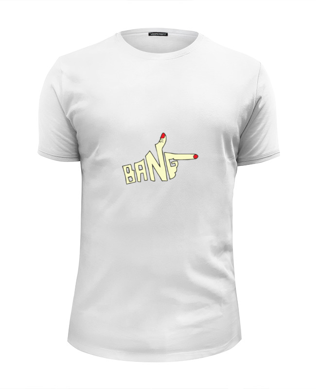 Футболка Wearcraft Premium Slim Fit Printio Рука-пистолет bang футболка wearcraft premium slim fit printio рука пистолет bang