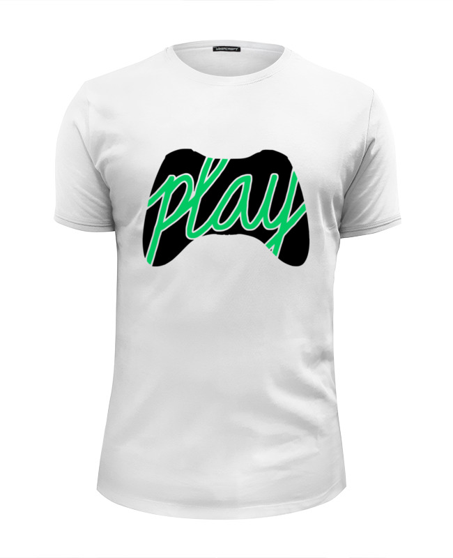 Футболка Wearcraft Premium Slim Fit Printio Play (xbox) футболка wearcraft premium slim fit printio play or die
