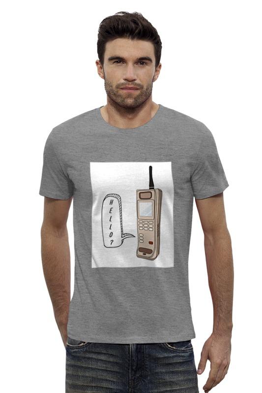 Футболка Wearcraft Premium Slim Fit Printio Ретро телефон телефон
