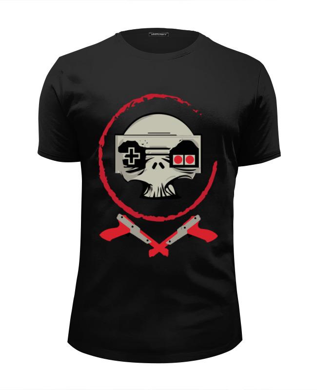 Фото - Футболка Wearcraft Premium Slim Fit Printio Череп игрок футболка wearcraft premium printio игрок