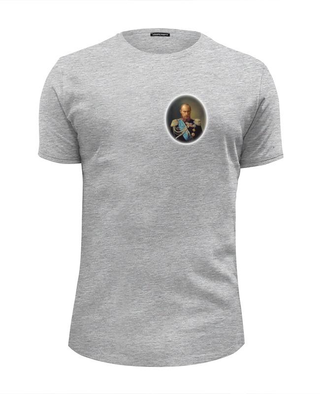 Футболка Wearcraft Premium Slim Fit Printio путин-царь футболка wearcraft premium slim fit printio царь просто царь
