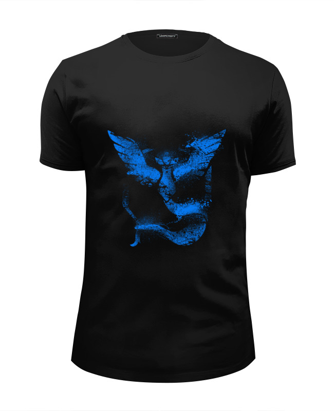 Футболка Wearcraft Premium Slim Fit Printio Team mystic футболка wearcraft premium slim fit printio north star team