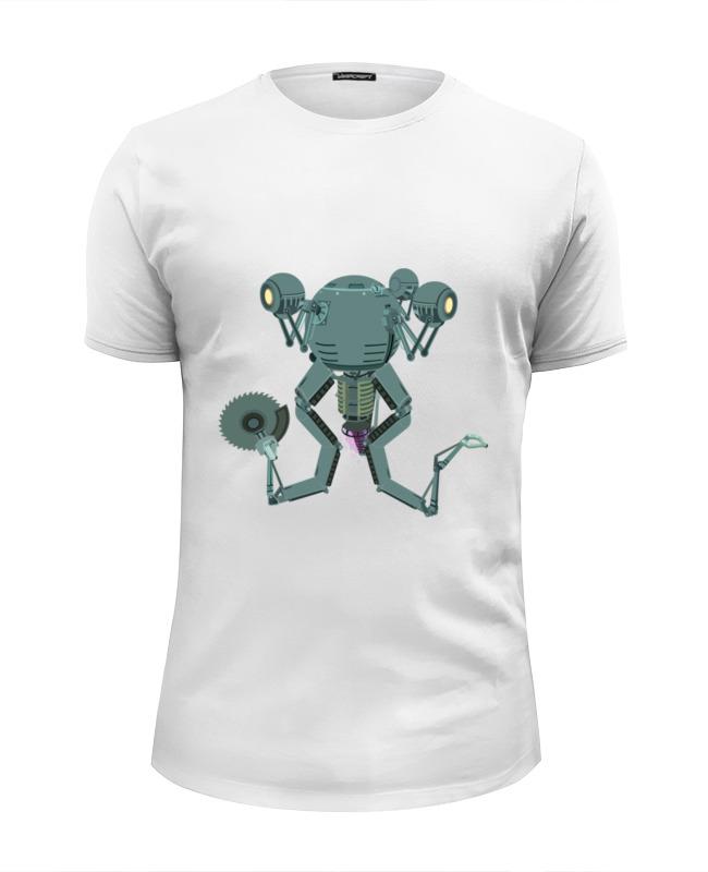 Футболка Wearcraft Premium Slim Fit Printio Mr. handy fallout футболка wearcraft premium slim fit printio mr handy fallout