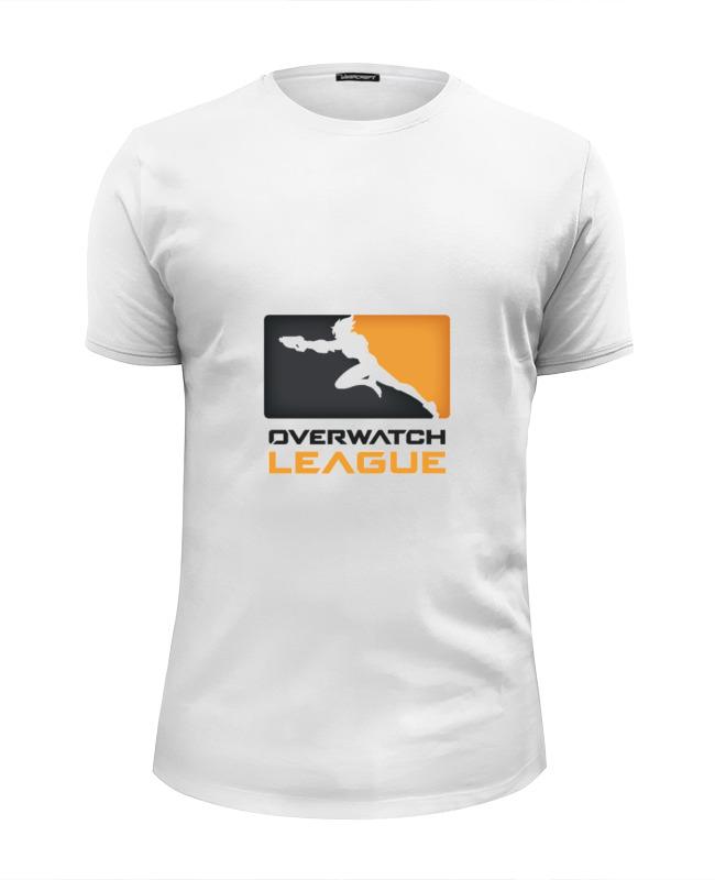Футболка Wearcraft Premium Slim Fit Printio Overwatch league сумка printio overwatch league