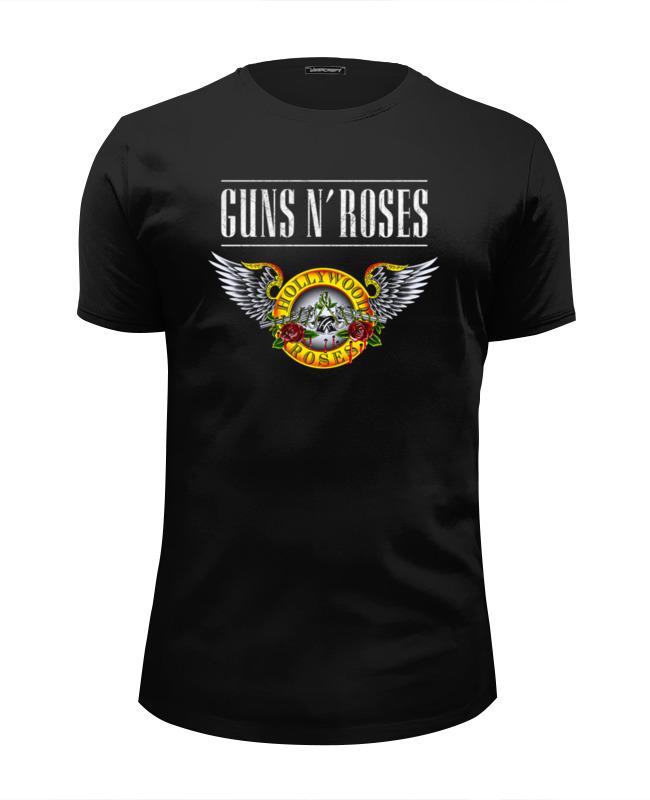Футболка Wearcraft Premium Slim Fit Printio Guns n' roses футболка guns n roses