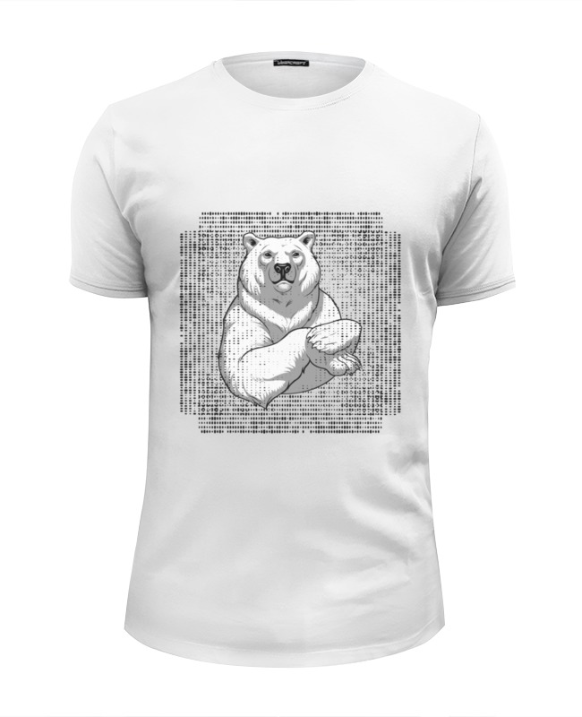 Футболка Wearcraft Premium Slim Fit Printio Polar bear polar bear