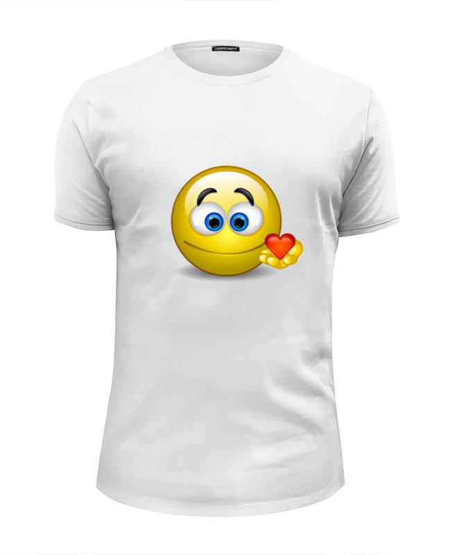 Футболка Wearcraft Premium Slim Fit Printio smiley футболка рингер printio smiley