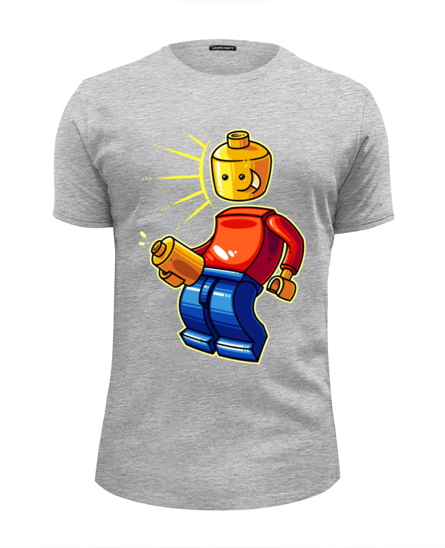 Футболка Wearcraft Premium Slim Fit Printio Лего (lego)