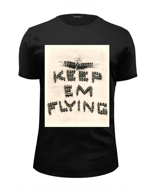 Фото - Футболка Wearcraft Premium Slim Fit Printio Летчик футболки и топы апрель футболка летчик пдк546002