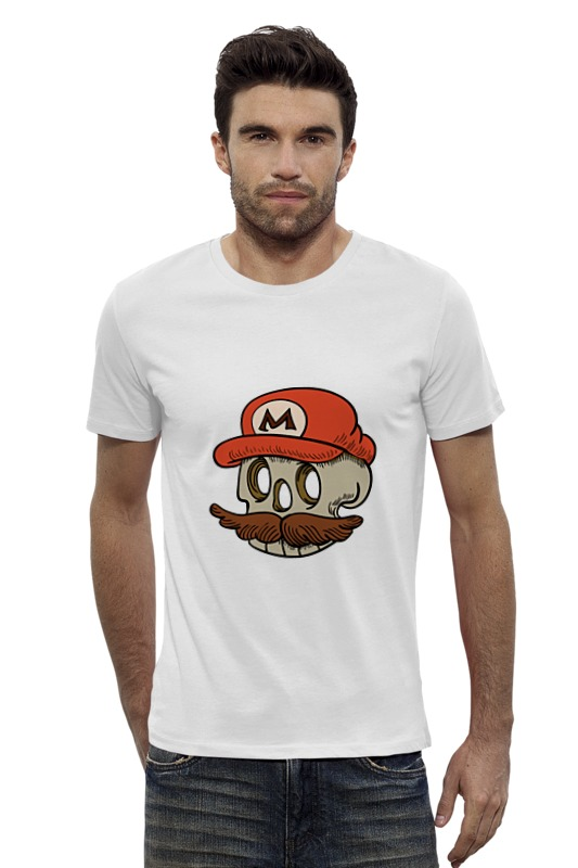 Футболка Wearcraft Premium Slim Fit Printio Марио футболка wearcraft premium slim fit printio avengers