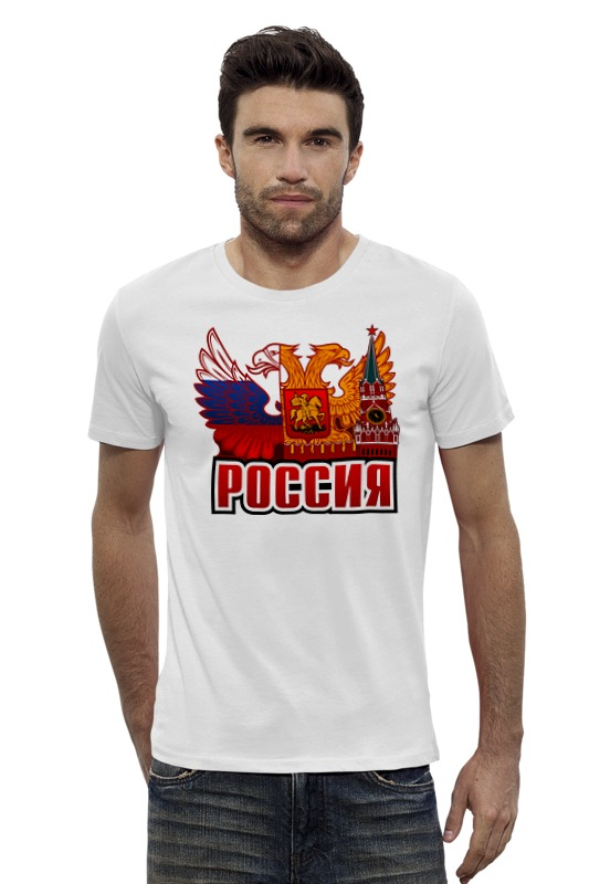Футболка Wearcraft Premium Slim Fit Printio Россия футболка wearcraft premium printio россия украина