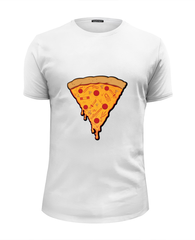 Футболка Wearcraft Premium Slim Fit Printio Пицца футболка wearcraft premium slim fit printio пицца и колбаска
