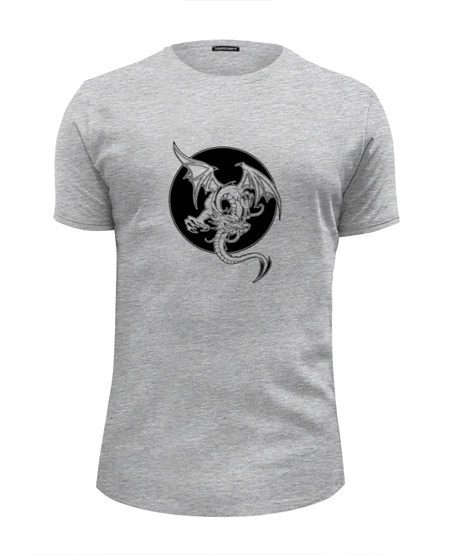 Футболка Wearcraft Premium Slim Fit Printio Дракон футболка wearcraft premium slim fit printio дракон