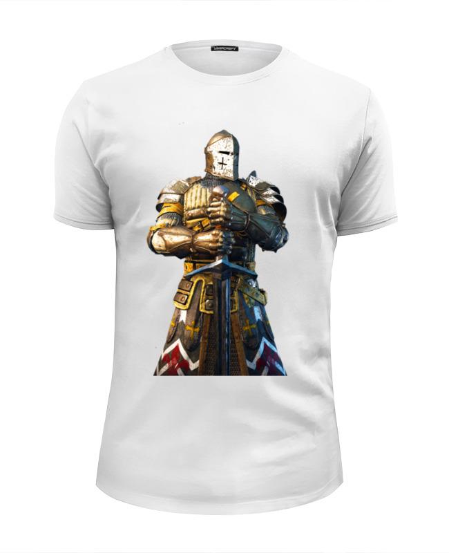 Футболка Wearcraft Premium Slim Fit Printio Рыцарь в доспехах успенский э рыцарь в сверкающих доспехах сказочная повесть