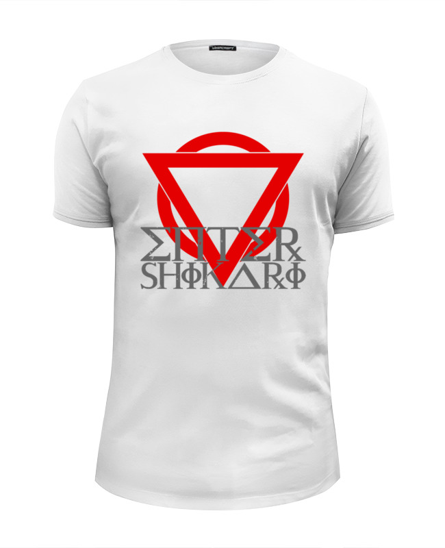 Футболка Wearcraft Premium Slim Fit Printio Enter shikari
