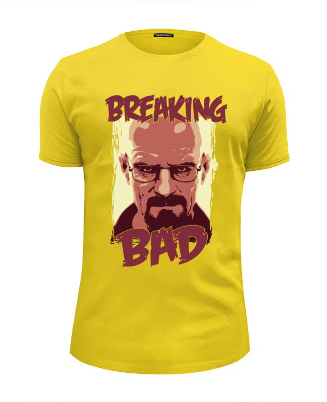 Футболка Wearcraft Premium Slim Fit Printio Breaking bad (во все тяжкие) футболка wearcraft premium slim fit printio god of meth breaking bad