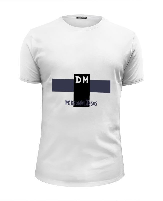 Футболка Wearcraft Premium Slim Fit Printio Depeche mode футболка wearcraft premium printio исус jesus