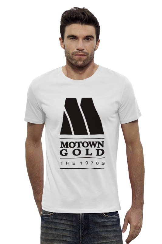 Футболка Wearcraft Premium Slim Fit Printio Motown