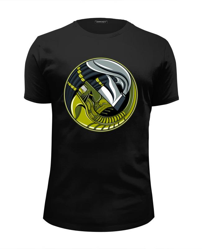 Футболка Wearcraft Premium Slim Fit Printio Чужой против хищника футболка wearcraft premium slim fit printio predator
