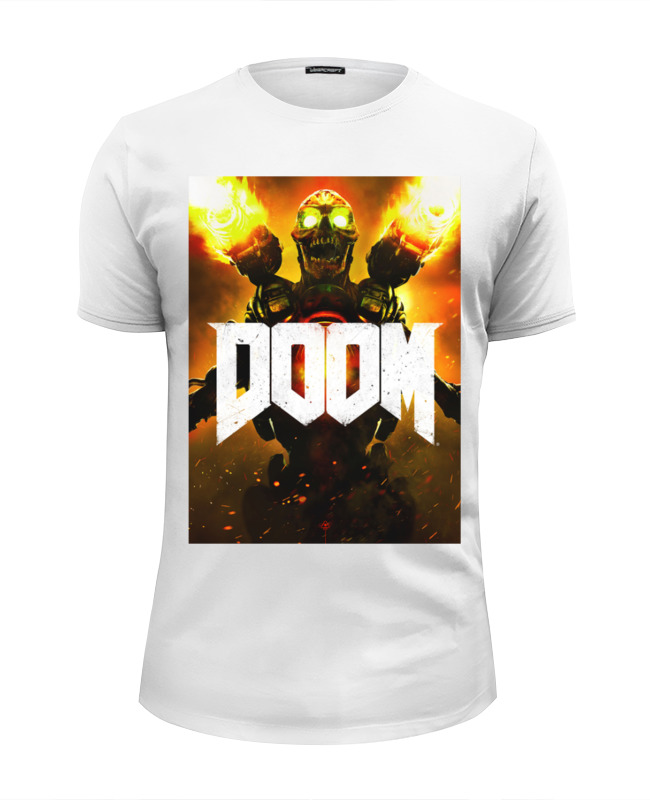 Футболка Wearcraft Premium Slim Fit Printio Doom 4 все цены