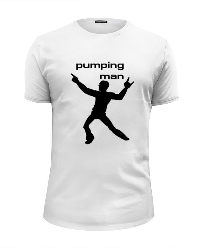 Футболка Wearcraft Premium Slim Fit Printio Pumping man #1 футболка wearcraft premium slim fit printio spider man
