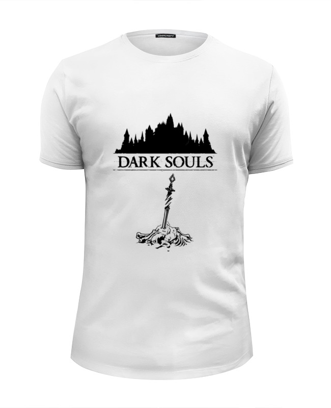 Футболка Wearcraft Premium Slim Fit Printio Dark souls футболка wearcraft premium slim fit printio dark souls тёмные души