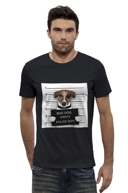 Футболка Wearcraft Premium Slim Fit Printio Bad dog (плохой пес) футболка wearcraft premium slim fit printio gta 5 dog