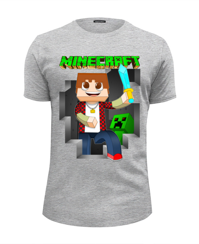 Printio Minecraft футболка wearcraft premium slim fit printio зверополис