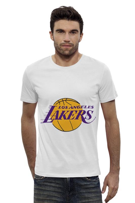 Футболка Wearcraft Premium Slim Fit Printio Lakers баскетбольную форму lakers