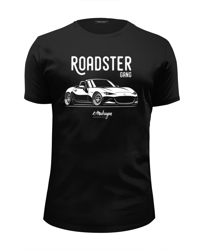 Футболка Wearcraft Premium Slim Fit Printio Mazda mx5 miata (nd)