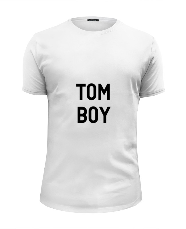Футболка Wearcraft Premium Slim Fit Printio Tom boy футболка классическая printio tom boy