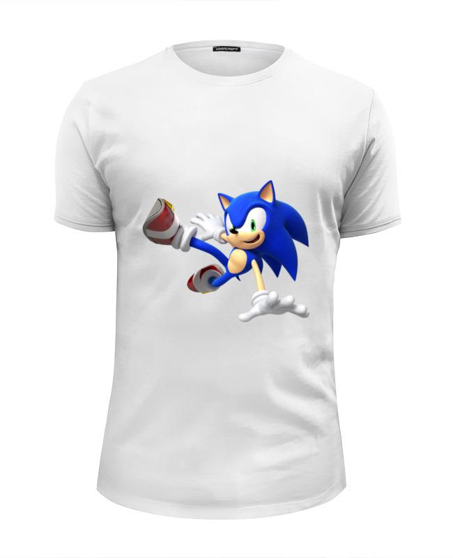 Футболка Wearcraft Premium Slim Fit Printio Sonic dance футболка для беременных printio sonic dance