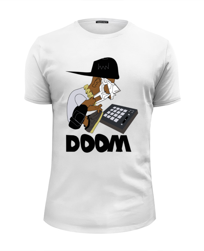 Футболка Wearcraft Premium Slim Fit Printio Mf doom все цены