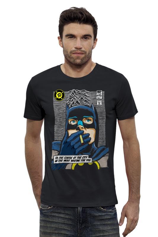 Футболка Wearcraft Premium Slim Fit Printio Batman waiting for you лонгслив printio batman waiting for you