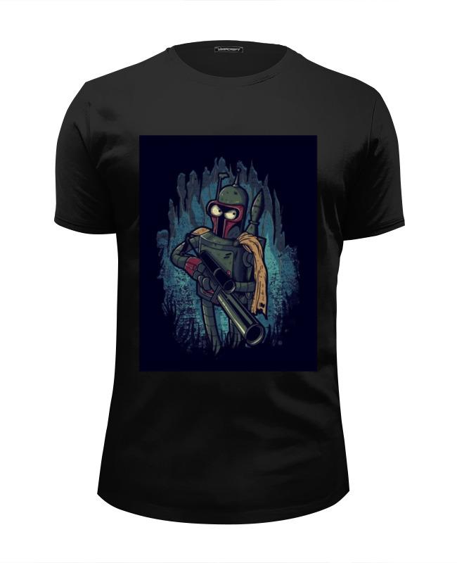 Футболка Wearcraft Premium Slim Fit Printio Boba bender футболка детская bodo цвет черный 4 100u размер 92 98
