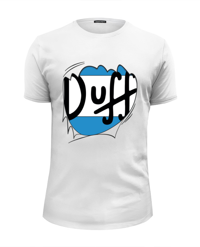 Футболка Wearcraft Premium Slim Fit Printio Пиво дафф (duff beer) цена
