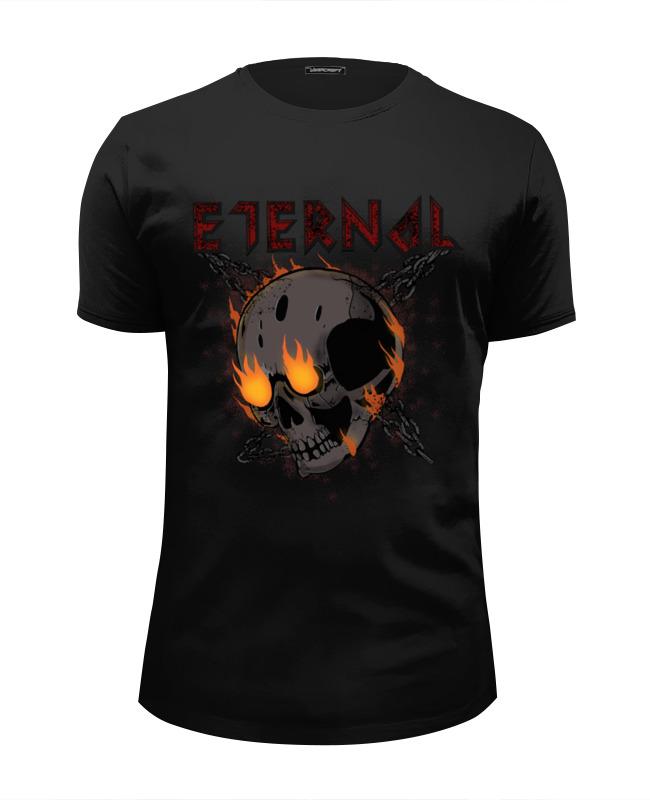 Футболка Wearcraft Premium Slim Fit Printio Футболка с черепом eternal skull цена