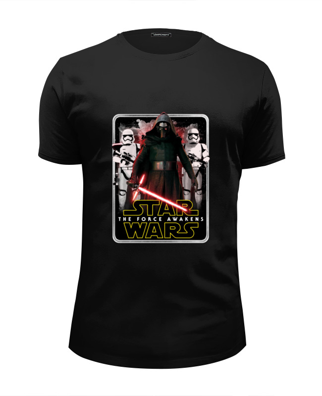 Футболка Wearcraft Premium Slim Fit Printio Star wars футболка wearcraft premium slim fit printio i love star wars