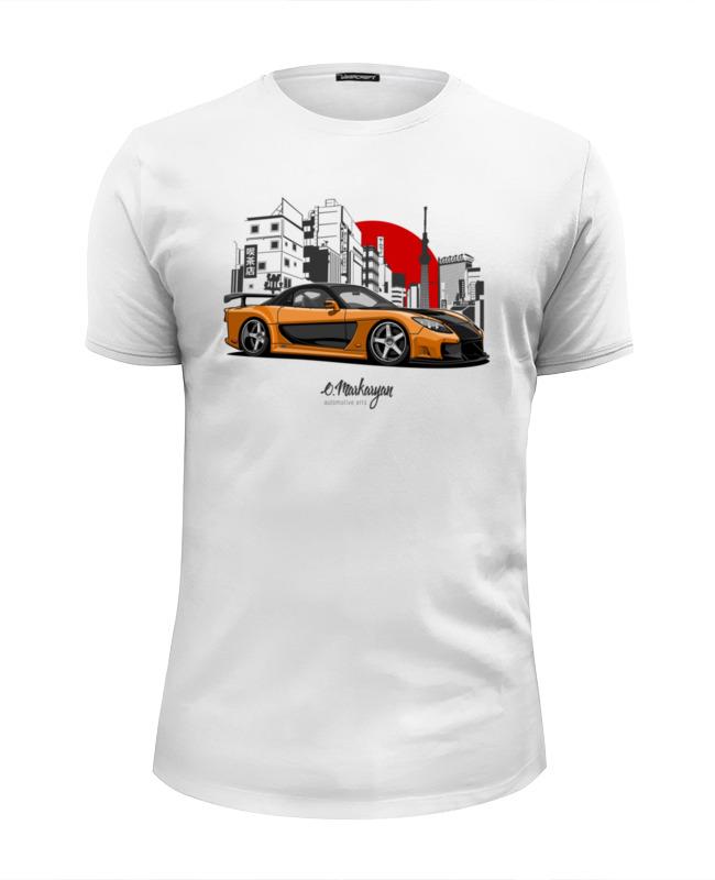 Футболка Wearcraft Premium Slim Fit Printio Mazda