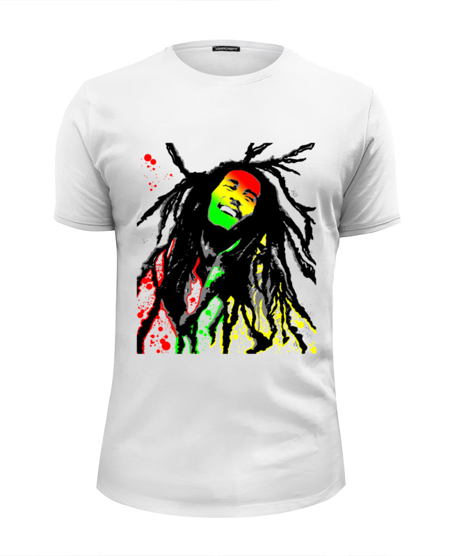 Футболка Wearcraft Premium Slim Fit Printio Marley футболка wearcraft premium slim fit printio grunge bob