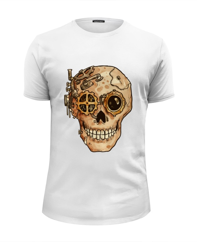Printio Череп киборга футболка классическая printio череп скелет