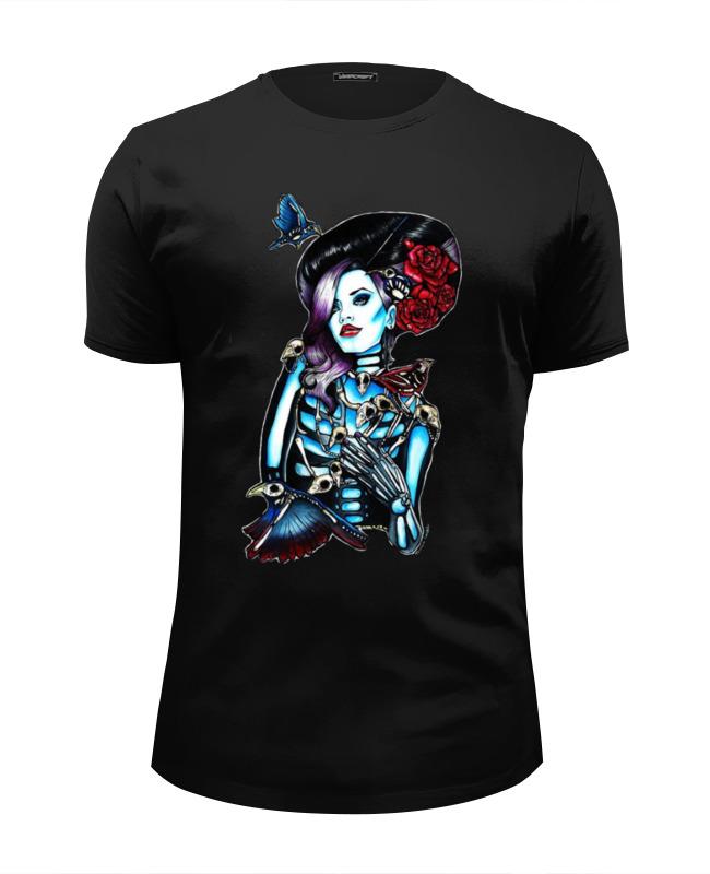 Printio Skeleton girl футболка wearcraft premium slim fit printio holy skeleton