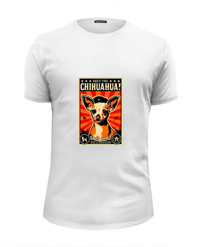 Футболка Wearcraft Premium Slim Fit Printio Собака: chihuahua футболка стрэйч printio собака chihuahua