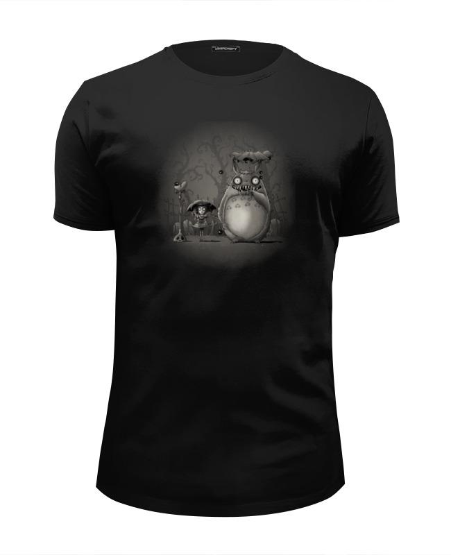 Футболка Wearcraft Premium Slim Fit Printio Ночной кошмар футболка классическая printio ночной кошмар
