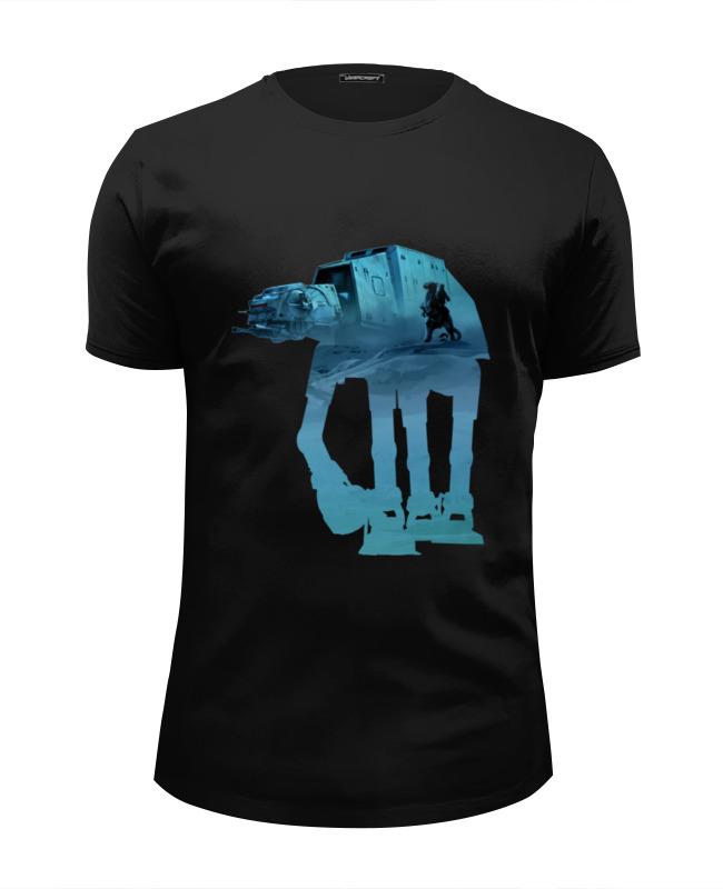 Футболка Wearcraft Premium Slim Fit Printio Шагоход at-at футболка wearcraft premium slim fit printio buried at sea