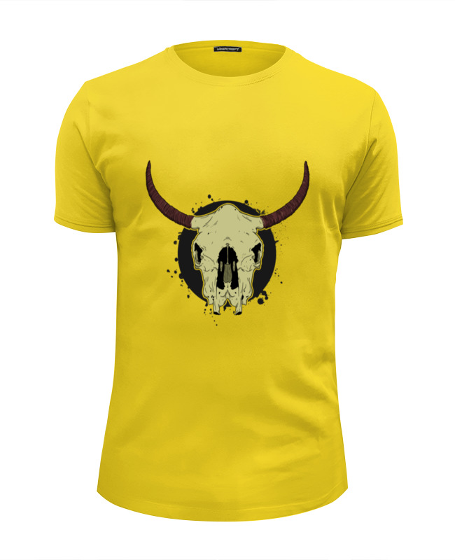 Футболка Wearcraft Premium Slim Fit Printio Skull bull футболка wearcraft premium slim fit printio low poly skull