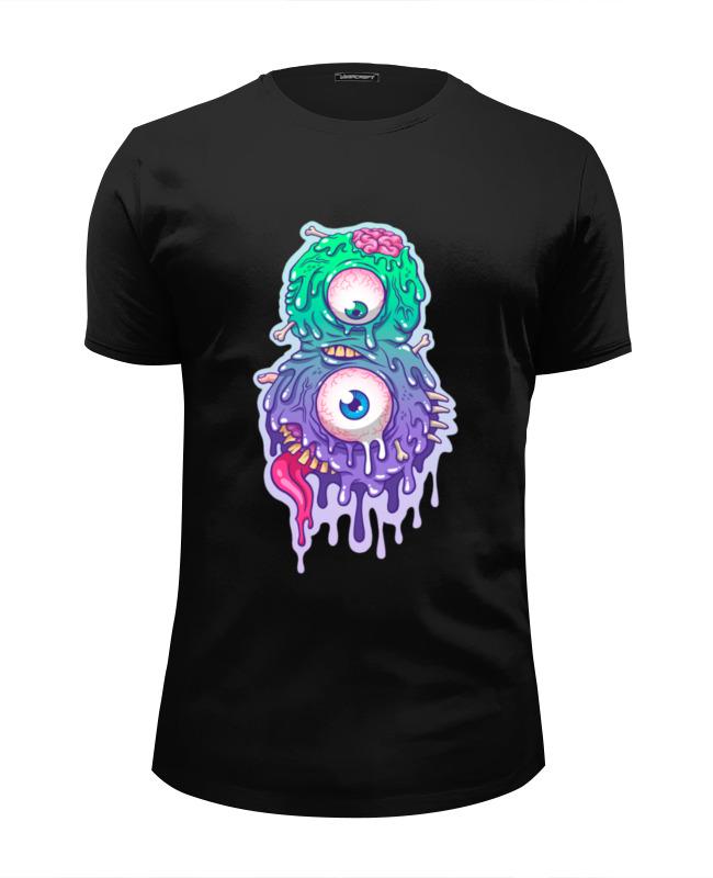 Футболка Wearcraft Premium Slim Fit Printio Восемь монстр (8 монстр) футболка wearcraft premium printio монстр в 3d
