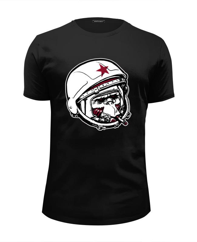Футболка Wearcraft Premium Slim Fit Printio Обезьяна зомби астронавт детская футболка классическая унисекс printio обезьяна зомби астронавт