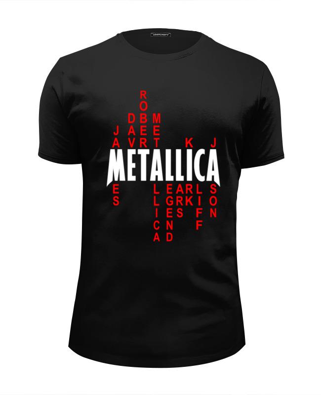Футболка Wearcraft Premium Slim Fit Printio Metallica history history delux футболка
