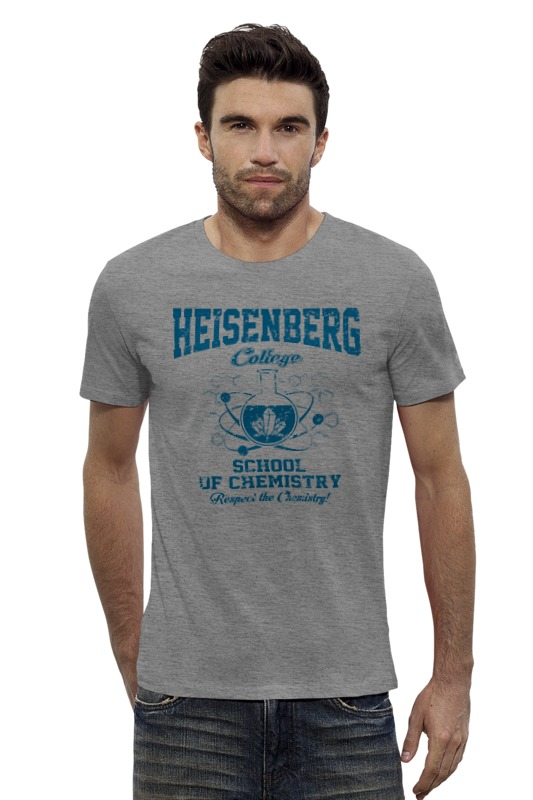 Футболка Wearcraft Premium Slim Fit Printio Heisenberg college